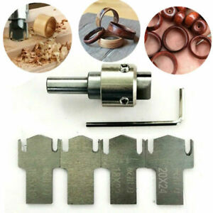 Multifunction Ring Drill Bit Wooden Thick HSS Buckle Ring Maker Wood Tool Set