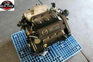 01 02 03 04 mazda tribute 3.0l dohc 24-valve duratec 30 v6 engine jdm aj |  ebay  ebay