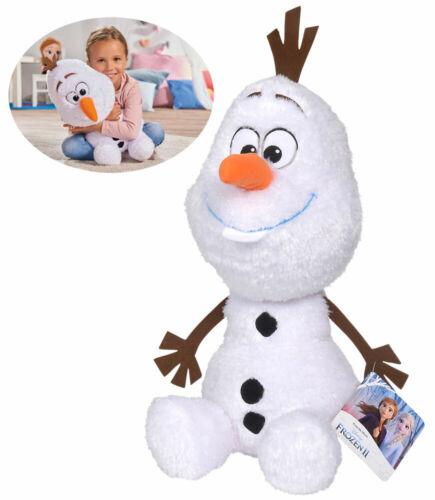Simba Disney Frozen 2 peluche Friends Olaf 50 cm paillettes-Blanc