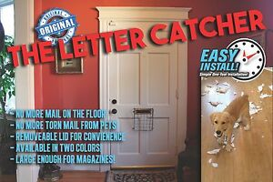 THE LETTER CATCHER - Mail Catcher Post/Door/Letter/Mail/Box/Guard Letterbox Cage