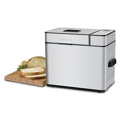 Cuisinart CBK-100 2 LB Bread Maker, Stainless Steel