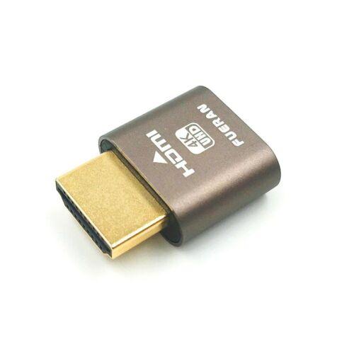 Display Emulator (Fit Headless-1920x1080 New ... HDMI Dummy Plug,Headless Ghost