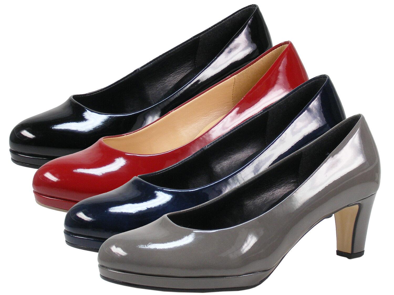 Gabor 91-260 Zapatos señora charol plataforma pumps ancho ancho ancho F  Ahorre 35% - 70% de descuento