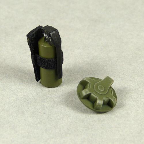 1/6 Scale Phicen, TBLeague, Hot Toys, VT Belt Strap Grenade + Strap Flash Bomb