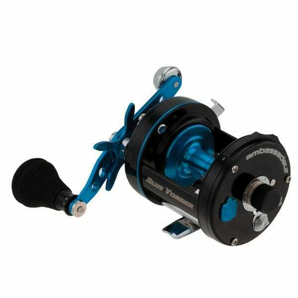 Abu Garcia Ambassadeur 6500 Blue Yonder Multiplier/Fishing Reel