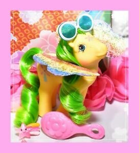 ❤️My Little Pony MLP G1 Vintage FLUTTER PONY Wind Drifter with Wings & Glasses❤️