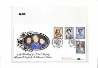 AL229 1990 GB Commemorative Cover '90th Birthday of HM Queen Elizabeth Mother'