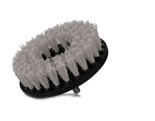 """3pc Carpet Mat 5/"""" Round Brush w//Power Drill Attachment Car Care /& Detailing Tool"""