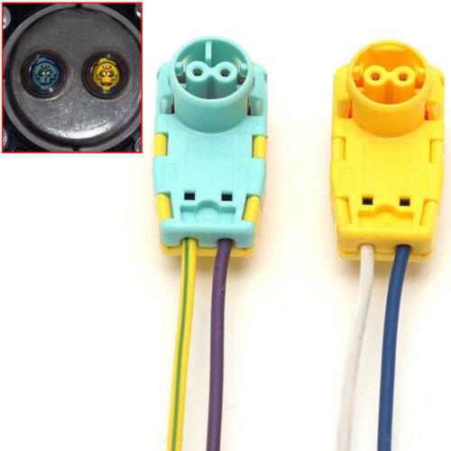 2x Airbag Clockspring Spring Wire Plug Connector For Sonata Verano Focus Volt