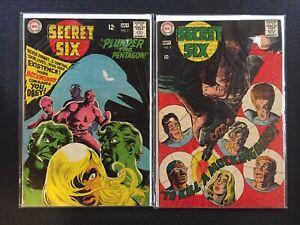 Secret-Six-2-amp-3-1968-DC-Comics-Combine-Shipping