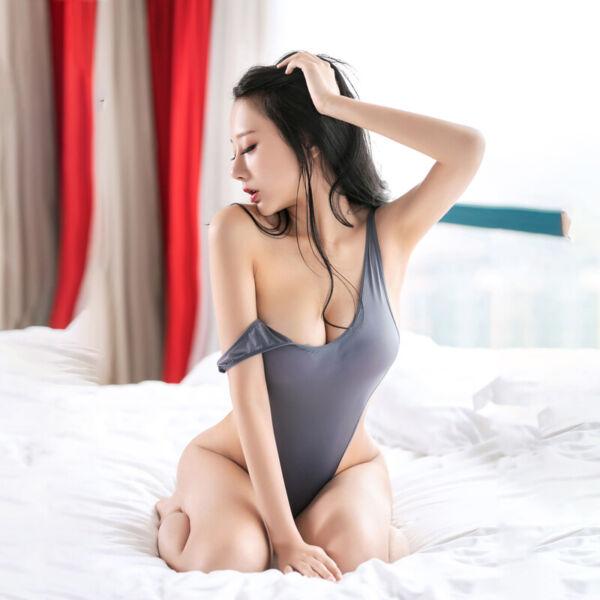 Frauen Body Damen Nachtwäsche Eng Sexy Mode Overall Clubwear Durchsichtig
