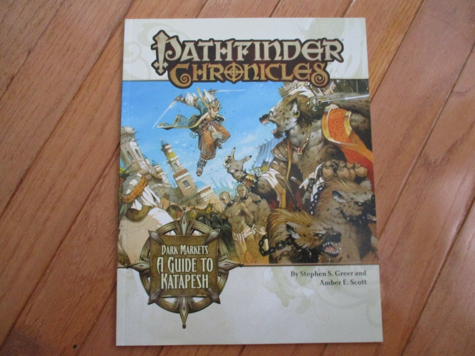D&D D20 Paizo Pathfinder Chronicles Dark Market A Guide to Katapesh