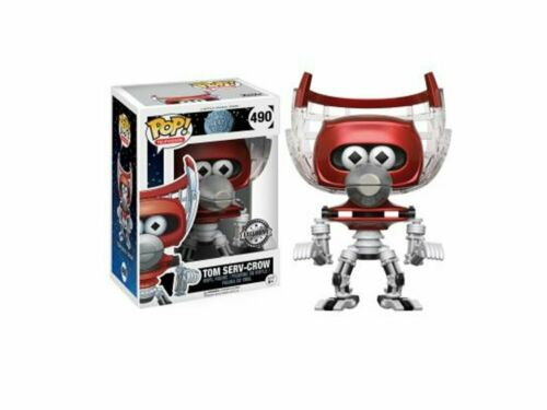 Mystery Science Theater 3000 Pop Vinyl Figure 490 Tom Serv Crow Pop Protecteur