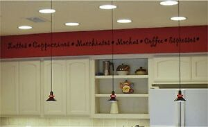 Coffee-Kitchen-Wall-Stickers-Vinyl-Decal-Border-Words
