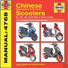 Haynes chinese scooter service & repair manual 4768 for daelim s.