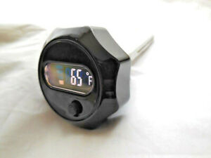 Harley-Davidson-Olstab-Olstand-Peilstab-Temperatur-LCD-Touring-schwarz-63030-09A