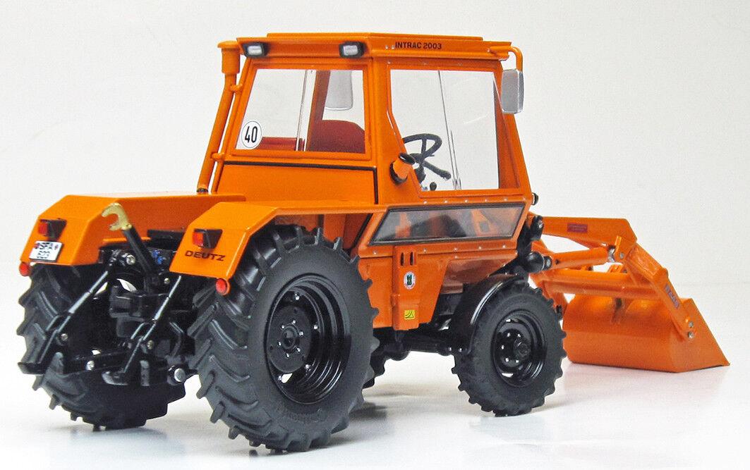 Weise-Toys 1109 Deutz INTRAC 2003 a con Front caricatrici locali Nuovo/Scatola Originale