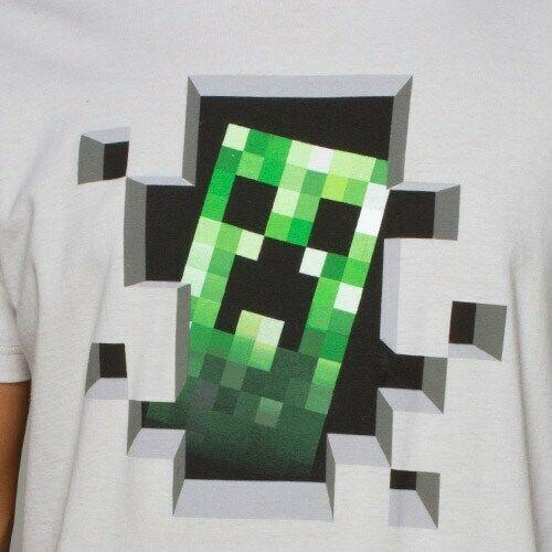 Licensed Graphic Tee XL XXL S Minecraft Creeper Inside Premium Tee M L