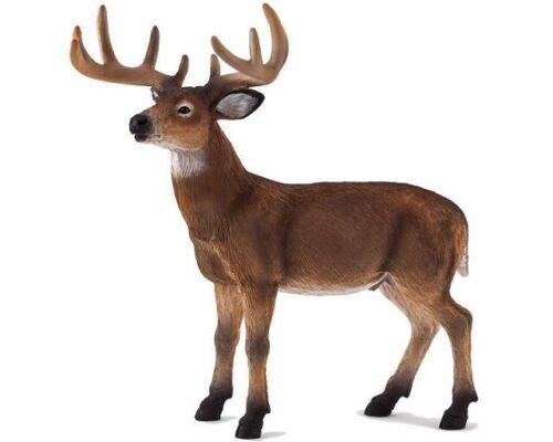 Mojo 387038 Cervi Bianco Muniti 11 cm Animali Selvatici