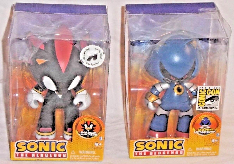 JAZWARES JUVI San Diego comic-con Metal Sonic Hedgehog Juguetesrus exclusivo sombra de figuras de acción
