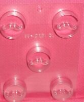 Mustache,man,chocolate Cookie Candy Mold,clear Plastic,c/k,masculine