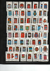 220-timbres-Espagne-neufs-avec-bonnes-series