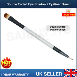 Spazzola-PROFESSIONALE-Double-Ended-ombretto-Eyeliner-Sottile-per-gel-in-Polvere