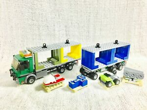 Lego-Town-City-Cargo-Terminal-Container-Truck-Mint-60097-60026-60200-8404-60169