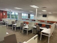 5x 6x50h Cubicle Workstations By Knoll Dividends Withglass Tack Brd Amp White Brd