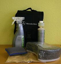 original Mercedes Pflege Set Exterieur Kit Tasche Reinigung außen Shampoo Felgen