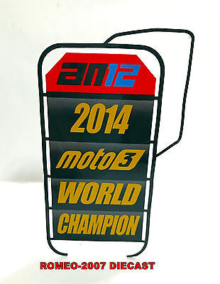 1:12 Pit board pitboards Alex Criville World Champion 1999 to minichamps NEW