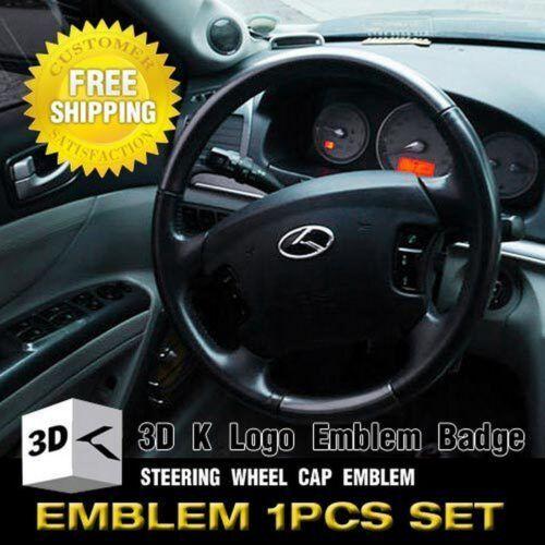 K Logo Steering Wheel Horn Center Cap Fit KIA 2011 2012 Sorento R