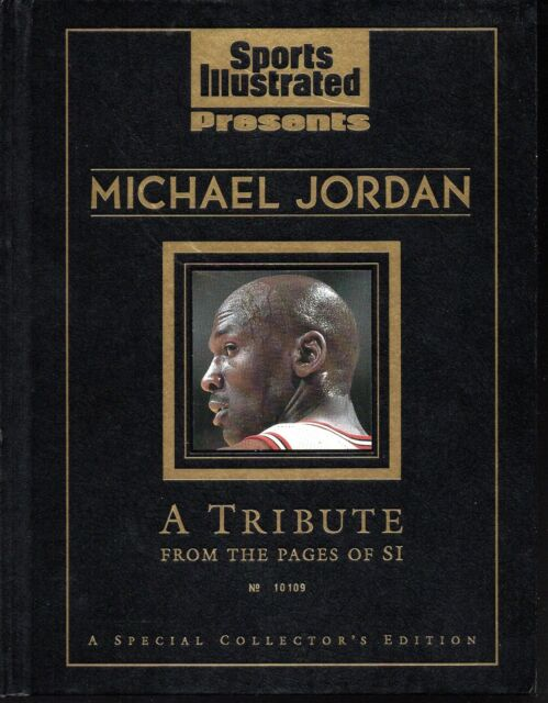 Sports Illustrated 1999 Michael Jordan A TRIBUTE Special Issue Hard Cover NR/MT