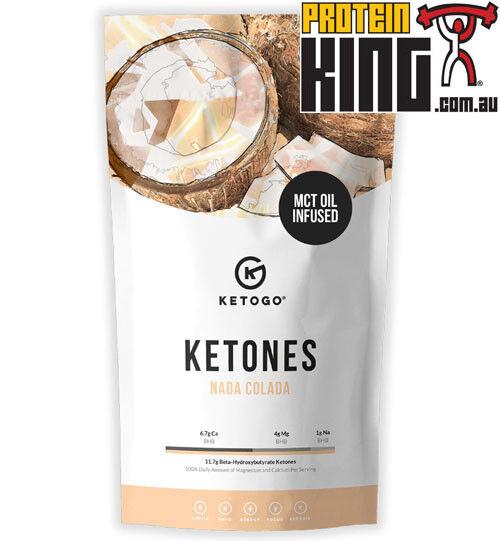 KETOGO KETONES 30 SERVES 600G NADA COLADA KETO ENERGY FOCUS KETOSIS PERFECT KETOSIS FOCUS BHB 411492