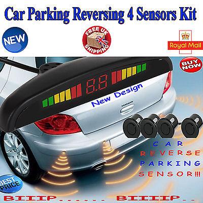 New Car Parking Reversing Sensor 4 Sensors LED Display Kit  UK Shipping