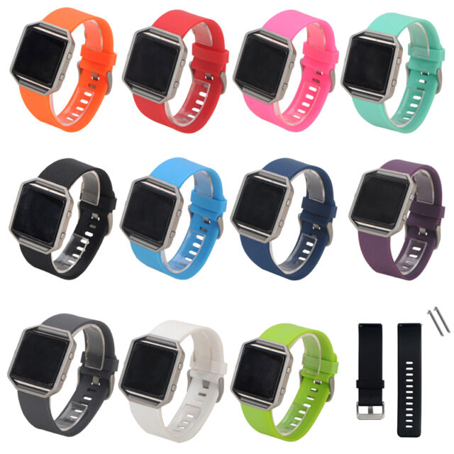 Replacement Silicone Wrist Band Strap Bracelet Watchband For Fitbit Blaze Watch
