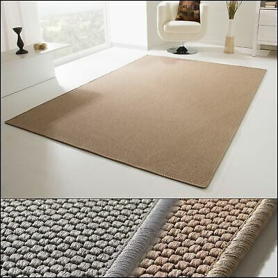 MODERN RUG VIBORG KITCHEN RUG BEIGE BROWN SILVER GREY HARD - WEARING | eBay