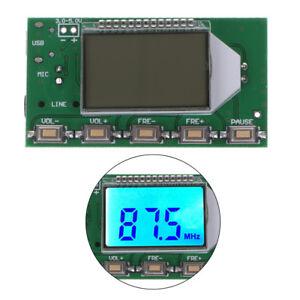 DSP-PLL-87-108MHz-Digital-Wireless-Microphone-Stereo-FM-Transmitter-Module-Board