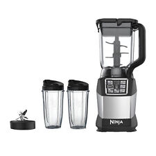 'Ninja Duo Auto-IQ Nutri Ninja Smooth Boost 72 Ounce Blender with 24-Ounce Cups' from the web at 'https://i.ebayimg.com/images/g/CzcAAOSwH2VaALeP/s-l225.jpg'