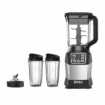 'Ninja Duo Auto-IQ Nutri Ninja Smooth Boost 72 Ounce Blender with 24-Ounce Cups' from the web at 'https://i.ebayimg.com/images/g/CzcAAOSwH2VaALeP/s-l400.jpg'