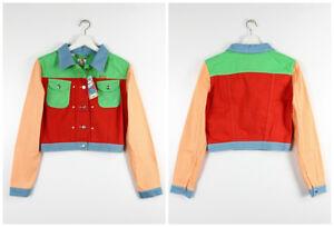 Xs Vintage s Vera Jeans Max Peter Di Retro Giacca Colore Wrangler Nuovo Blocchi q4POSwff