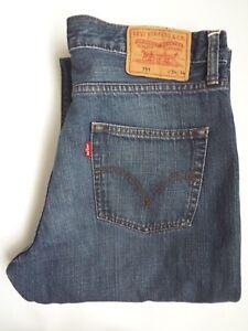 Dettagli su Jeans Levis 751 Da Uomo Gamba Dritta W34 L34 Blu Medio Strauss levm 254 # mostra il titolo originale