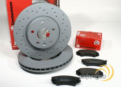 Zimmermann Sport Bremsscheiben gelocht Beläge für vorne Hyundai Tucson TL