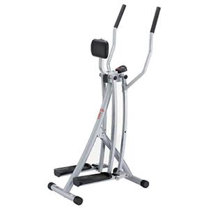 Sunny Health & Fitness SF-E902 Air Walk Trainer Elliptical Machine Glider w/ LCD