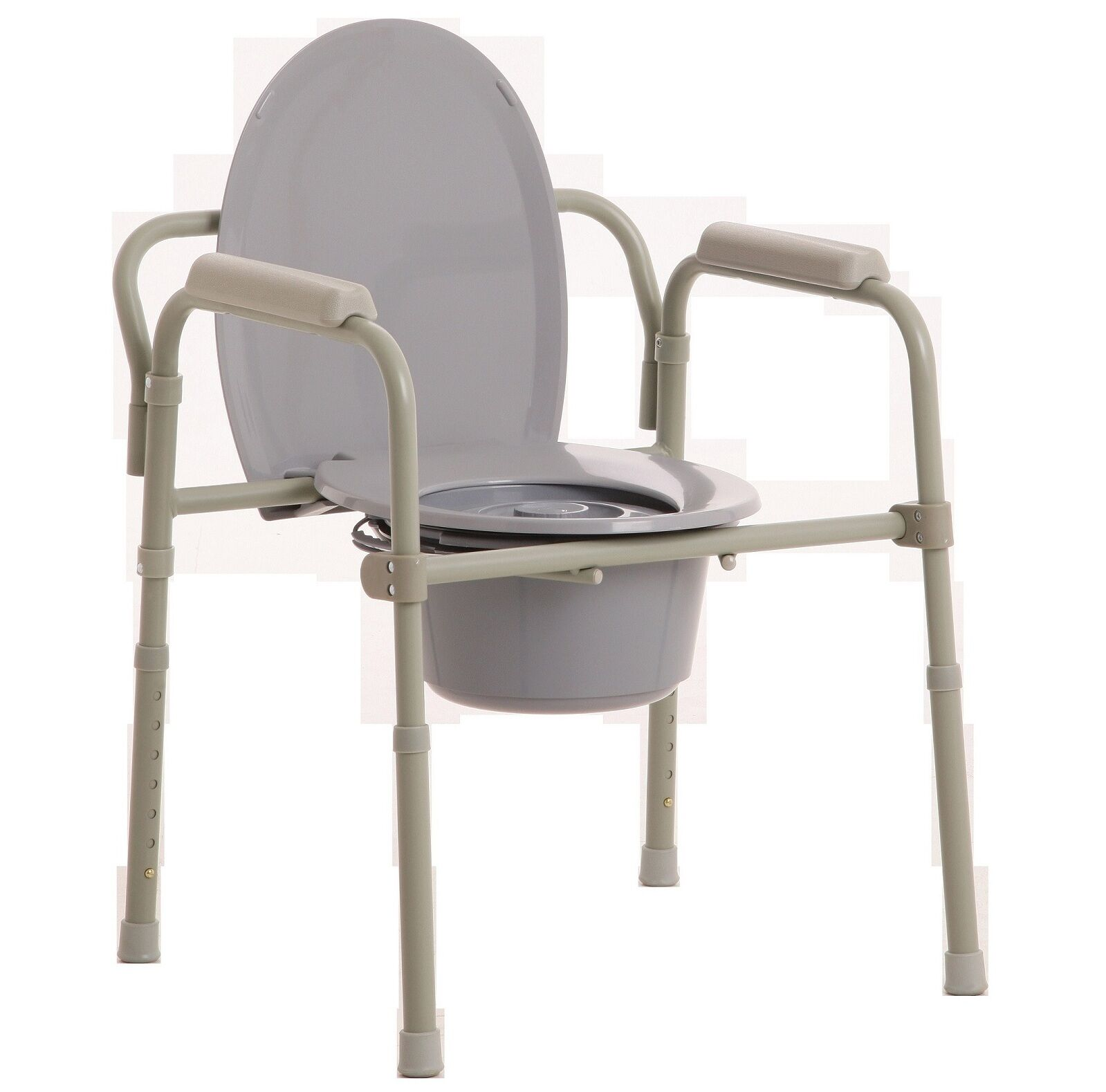 MLE OVER TOILET AID WITH CARE MODE CHAIR ADJUSTABLE HEIGHT