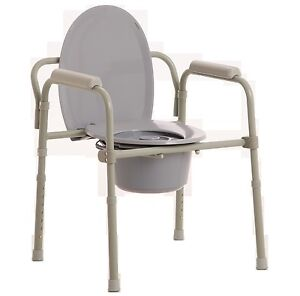 MLE OVER TOILET AID WITH CARE, COMMODE CHAIR, ADJUSTABLE HEIGHT ...