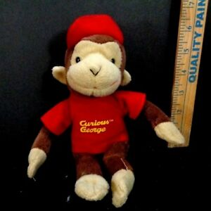 curious george red t shirt