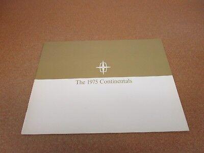1999 Lincoln Continental 24-page Original Car Sales Brochure Catalog