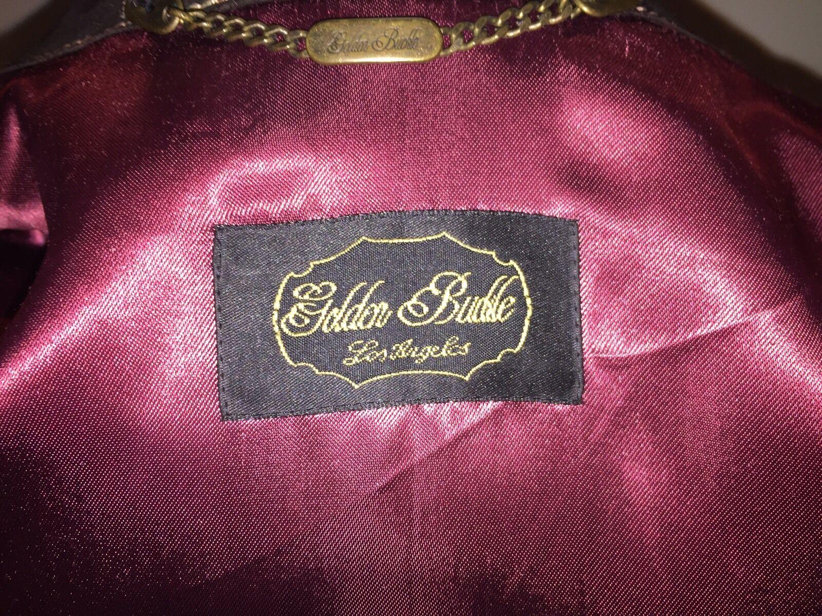 Reiterin edel Golden Budle Lederblazer Gr. 40 40 40 100% Leder Braun Damen Top Zustand c59a46