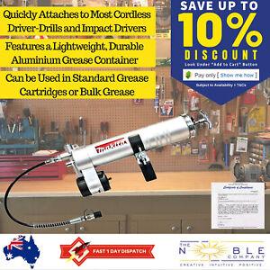 Makita-Grease-Gun-Attachment-Cordless-Pistol-Aluminium-1-4-Hex-Drive-Shank-Power